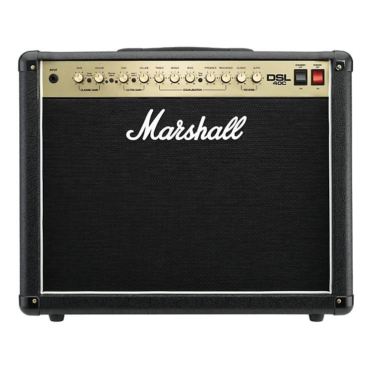 MarshallDSL40C 40W All-Tube 1x12 Guitar Combo AmpBlack