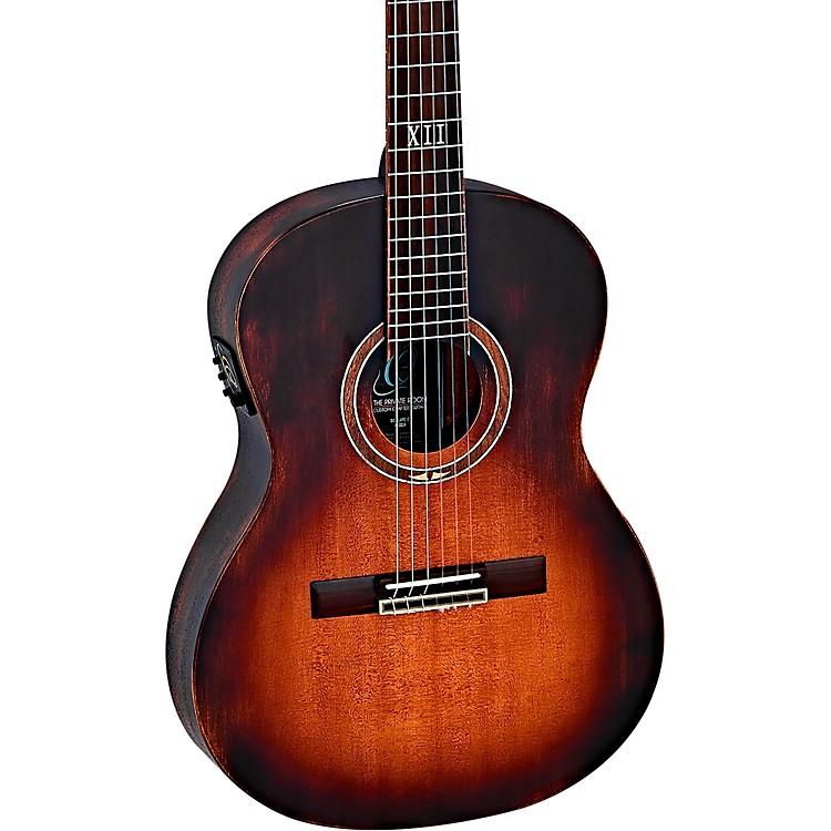 OrtegaDSSUITE-E Distressed Nylon Acoustic-Electric GuitarTobacco Brown Sunburst