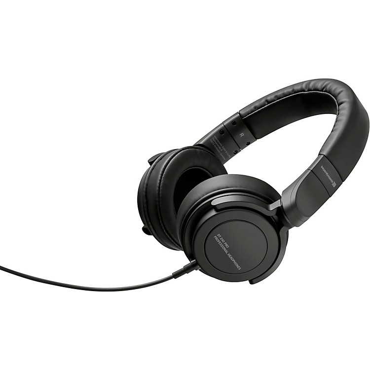 Beyerdynamic DT 240 Pro Closed Back Stereo Headphones with Swivel Cups and Detachable Cable