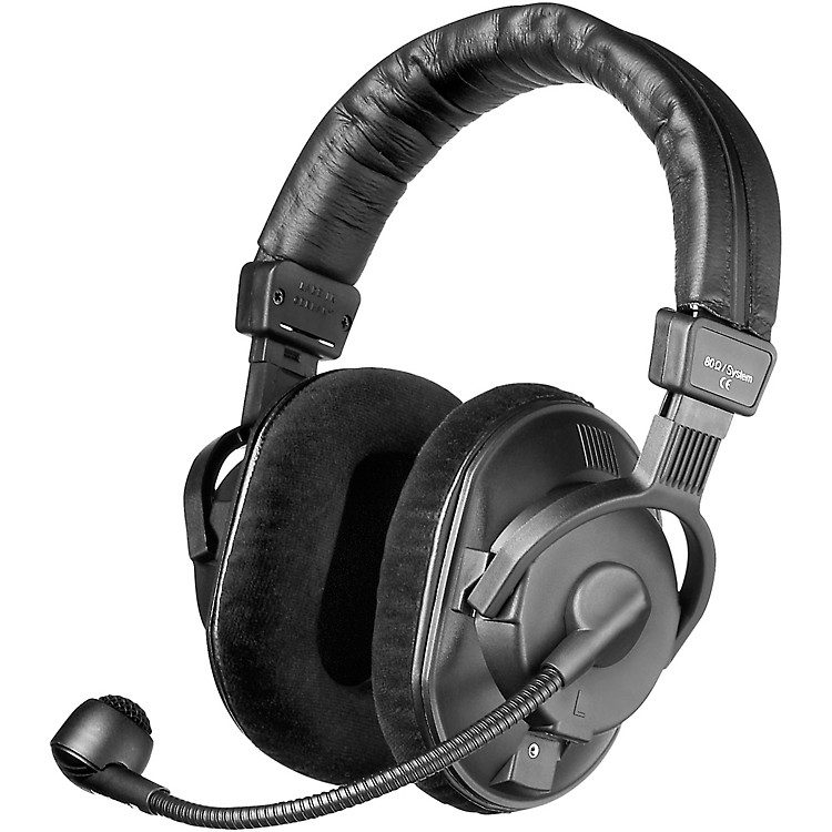 BeyerdynamicDT 290 MKII 80 ohm Headset with Dynamic Mic (cable not included)