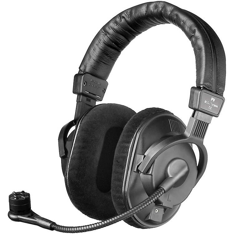 BeyerdynamicDT 297 PV MKII 80 ohm Headset with Phantom Power Condenser Mic (cable not included)
