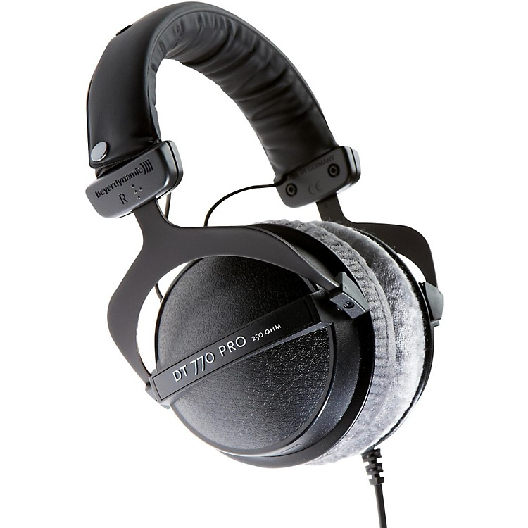 beyerdynamic dt 770 pro closed studio headphones 250 ohms music123. Black Bedroom Furniture Sets. Home Design Ideas
