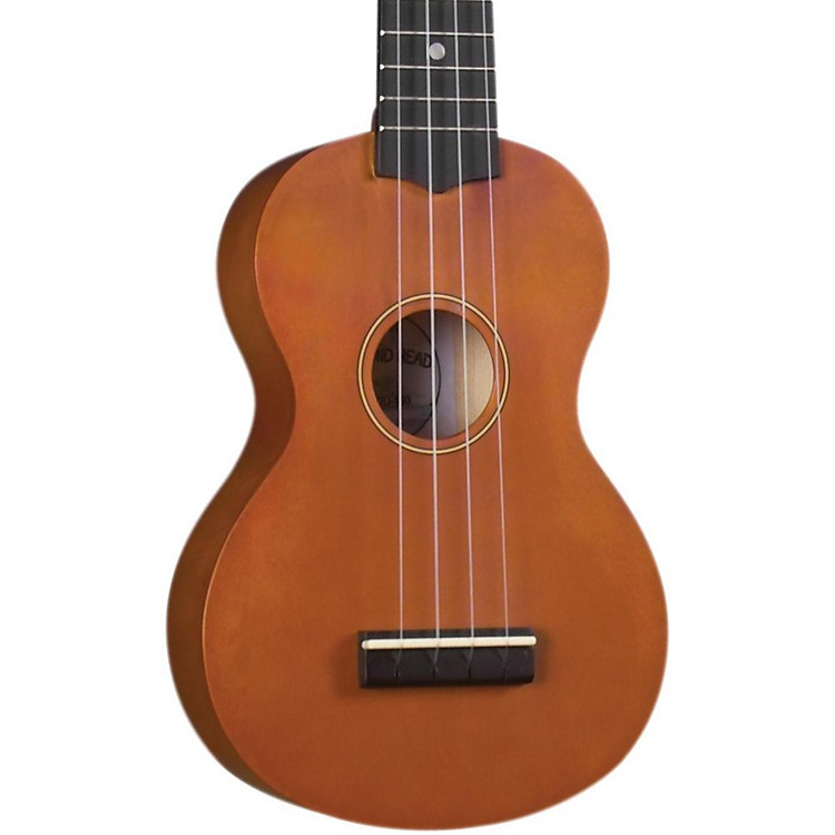 Diamond Head DU-150 Soprano Ukulele Natural Black Fingerboard