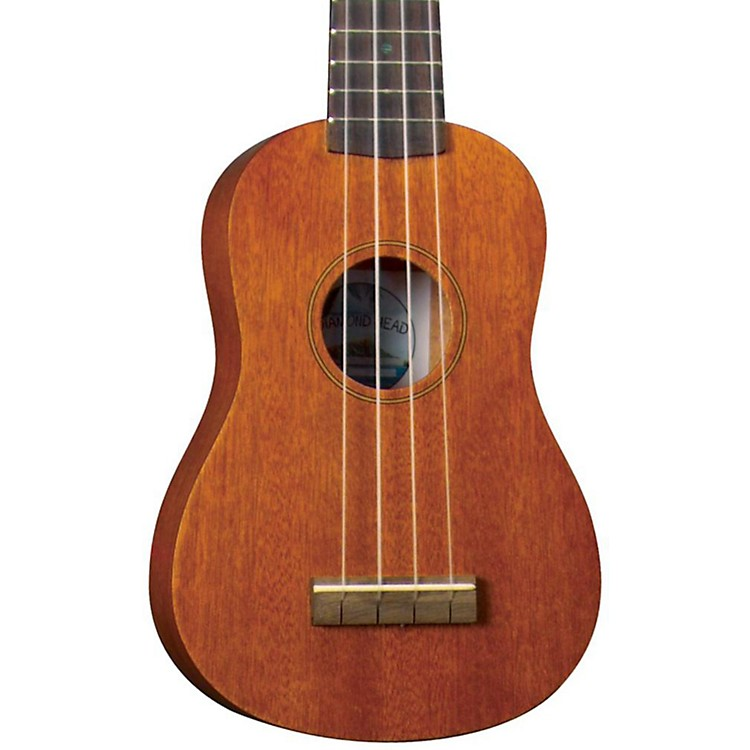Diamond Head DU-200 Soprano Ukulele Natural Rosewood Fingerboard