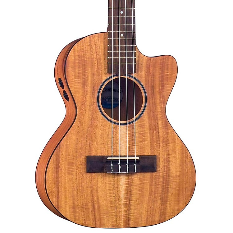 Diamond Head DU-350TCE Tenor Acoustic-Electric Ukulele Natural
