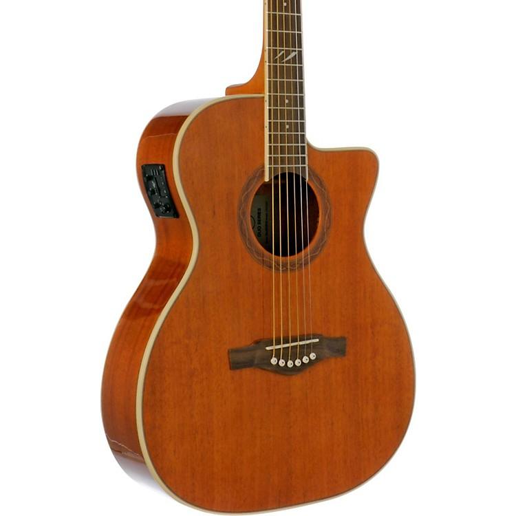 EKODUO Series Auditorium Acoustic-Electric GuitarNatural