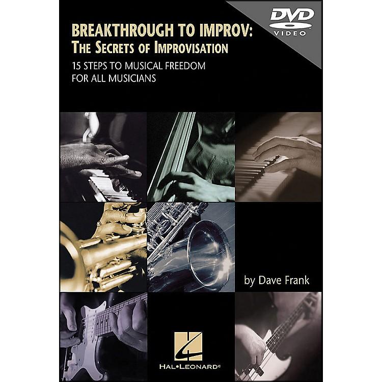 Hal LeonardDVD Breakthrough To Improv: The Secrets Of Improvisation