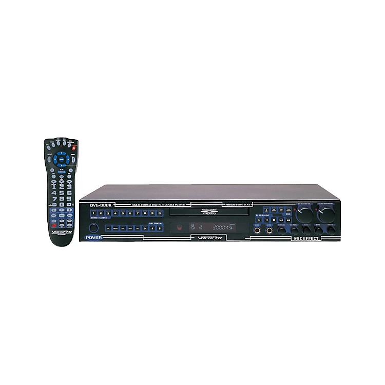 VocoProDVG-888K-II Multi format Karaoke Player