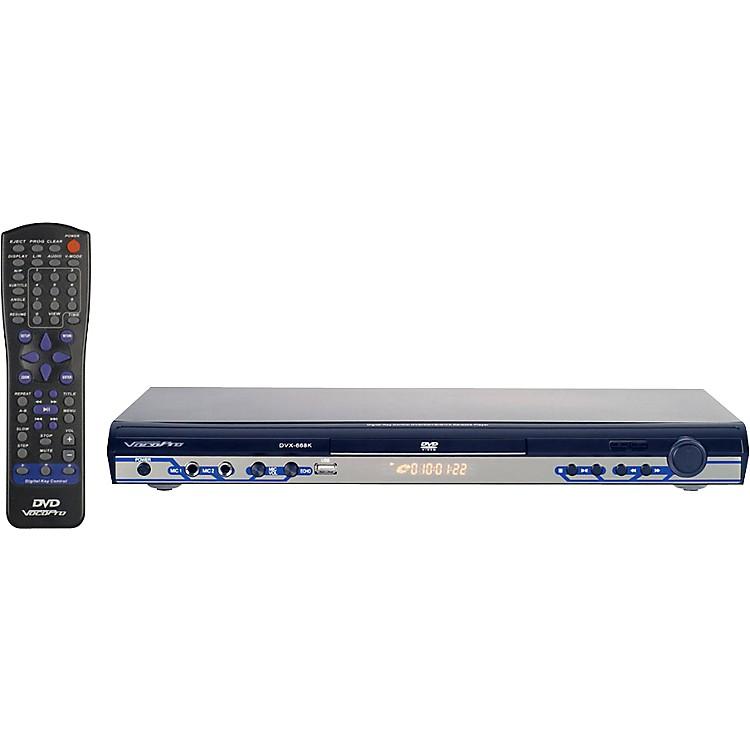 VocoProDVX-668K Multi-format Karaoke Player