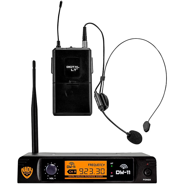NadyDW-11 LT 24 bit Digital Headmic Wireless Microphone System