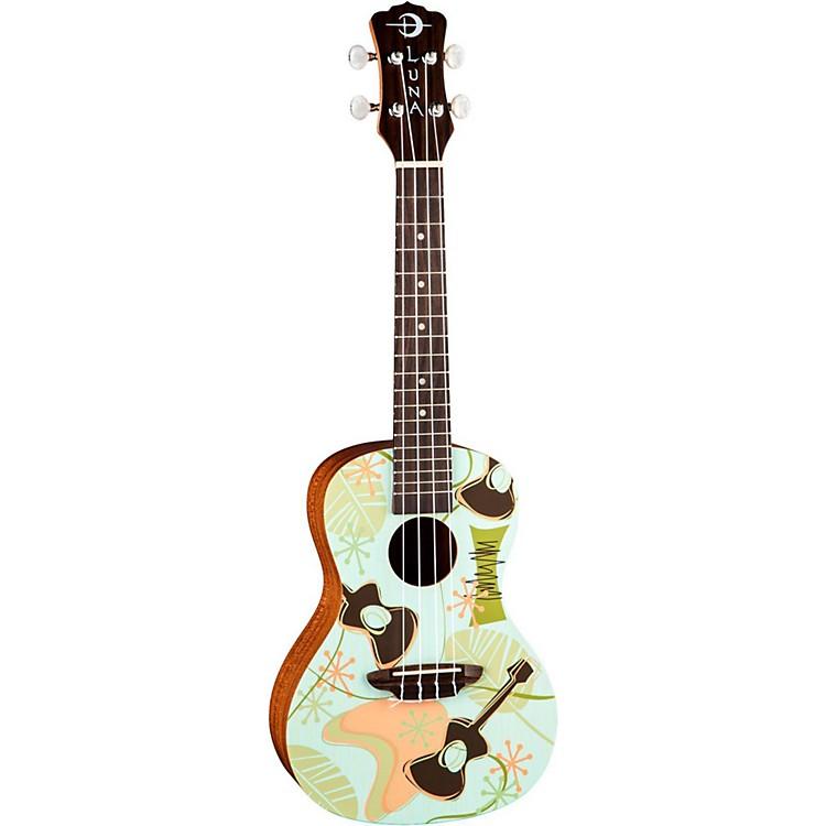 Luna GuitarsDaddy-O Concert Ukulele
