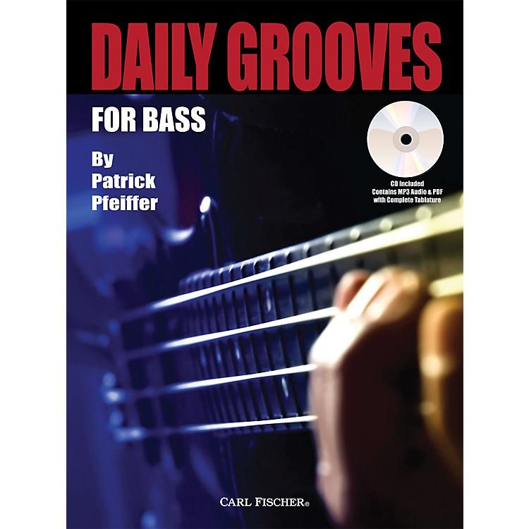 Carl FischerDaily Grooves for Bass Book/CD