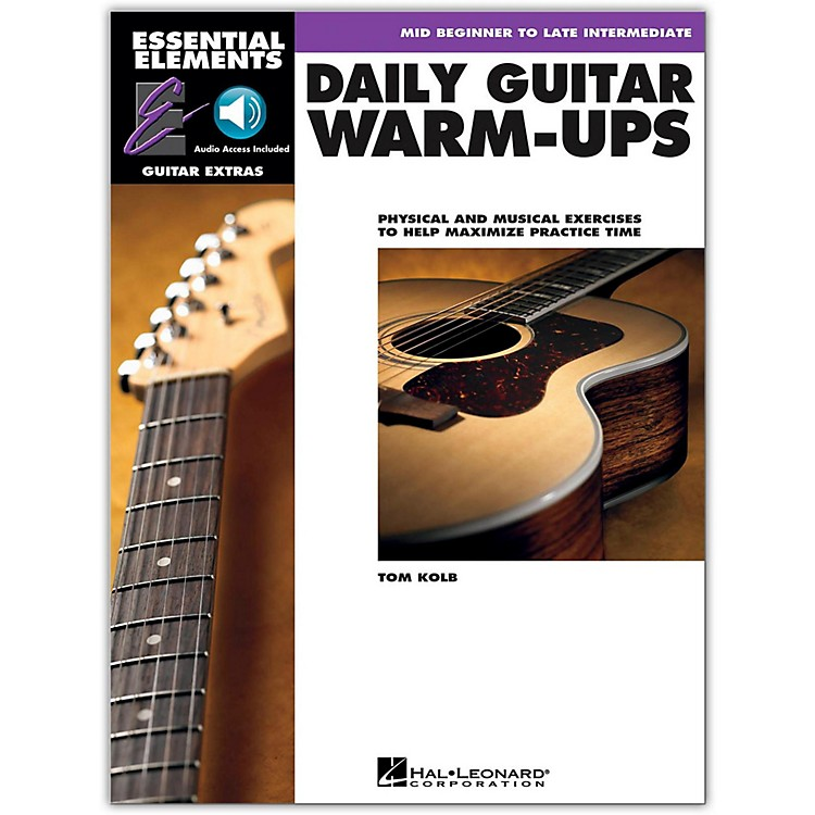 Hal Leonard Daily Guitar Warm-Ups Essential Elements Guitar (Book/Online Audio)