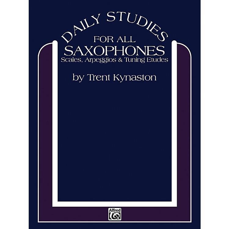 AlfredDaily Studies for Saxophones