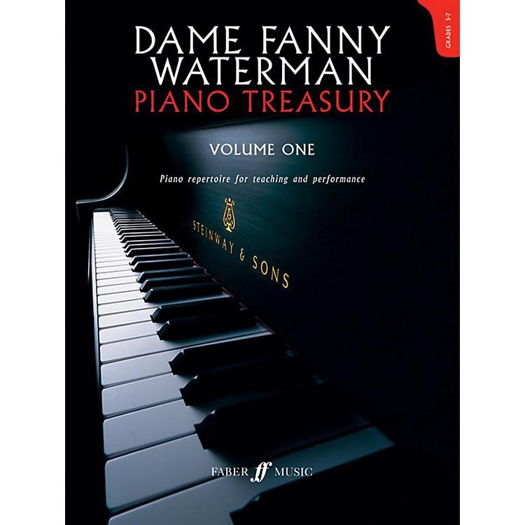Faber Music LTDDame Fanny Waterman - Piano Treasury Volume One Advanced Book