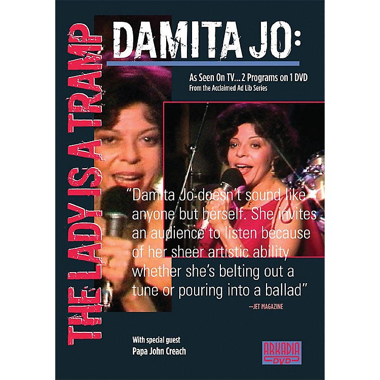 Hal Leonard Damita Jo - The Lady Is a Tramp (Visions of Jazz Series) DVD Series DVD Performed by Damita Jo