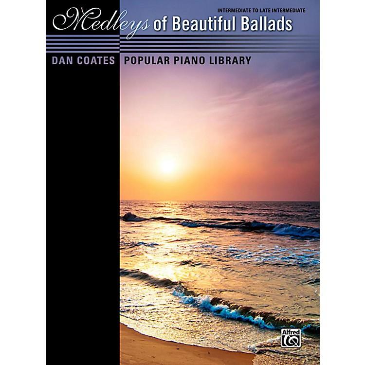 AlfredDan Coates Popular Piano Library Medleys of Beautiful Ballads Book