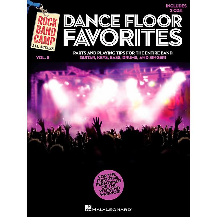 Hal LeonardDance Floor Favorites - Rock Band Camp Vol. 5 (Book/2-CD Pack) Vocal Gtr Keys Bass Drums