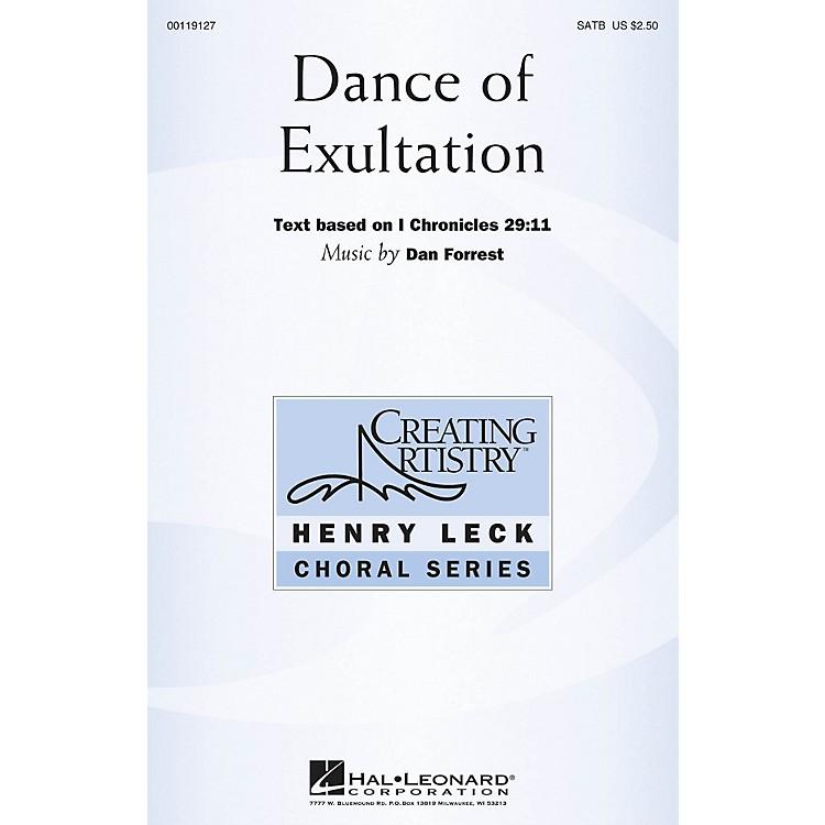 Hal LeonardDance of Exultation (Henry Leck Choral Series) SATB composed by Dan Forrest