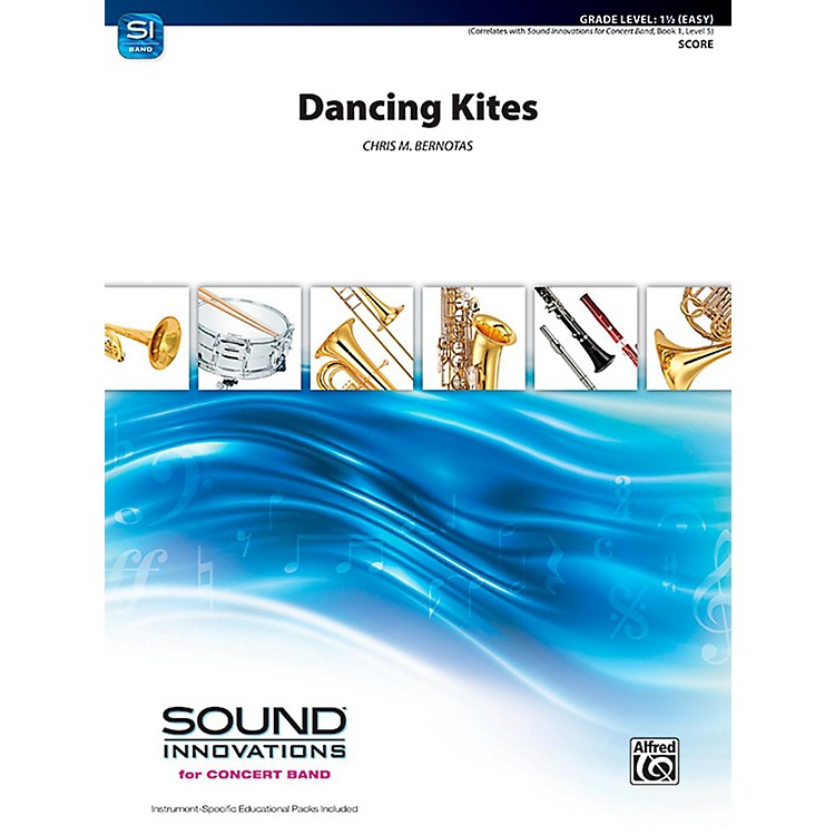 Alfred Dancing Kites Concert Band Grade 1.5 (Easy)