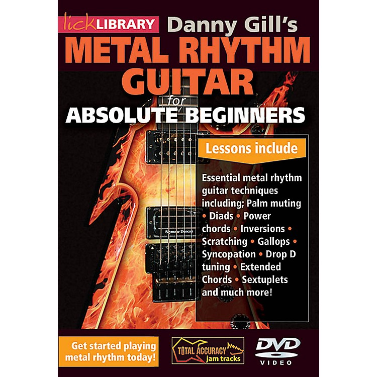LicklibraryDanny Gill's Metal Rhythm Guitar (Absolute Beginners Series) Lick Library Series DVD by Danny Gill