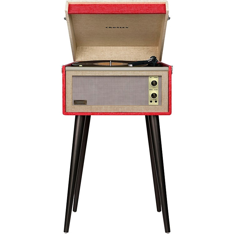 Crosley Dansette Bermuda Turntable with Bluetooth and Pitch Control Red