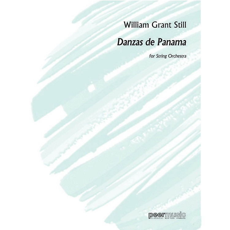 Peer Music Danzas de Panama (String Orchestra) Peermusic Classical Series Softcover Composed by William Grant Still