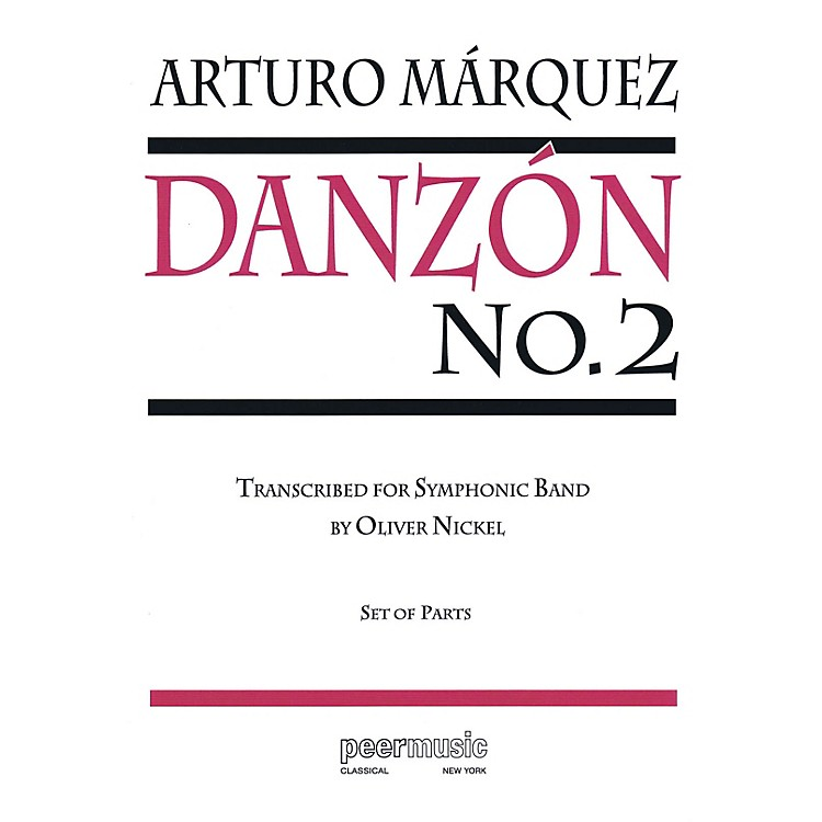Peer MusicDanzón No. 2 Concert Band Level 4 Composed by Arturo Marquez