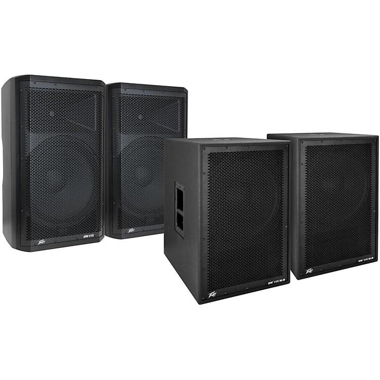 PeaveyDark Matter DM115 Powered Speaker and Sub Pair