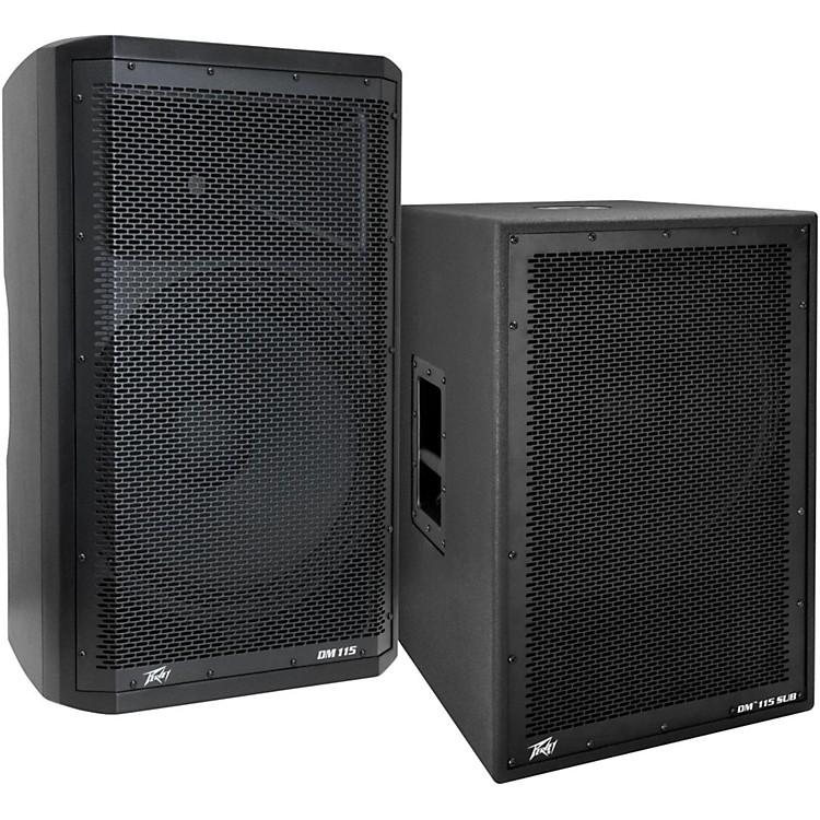 PeaveyDark Matter DM115 Powered Speaker and Sub