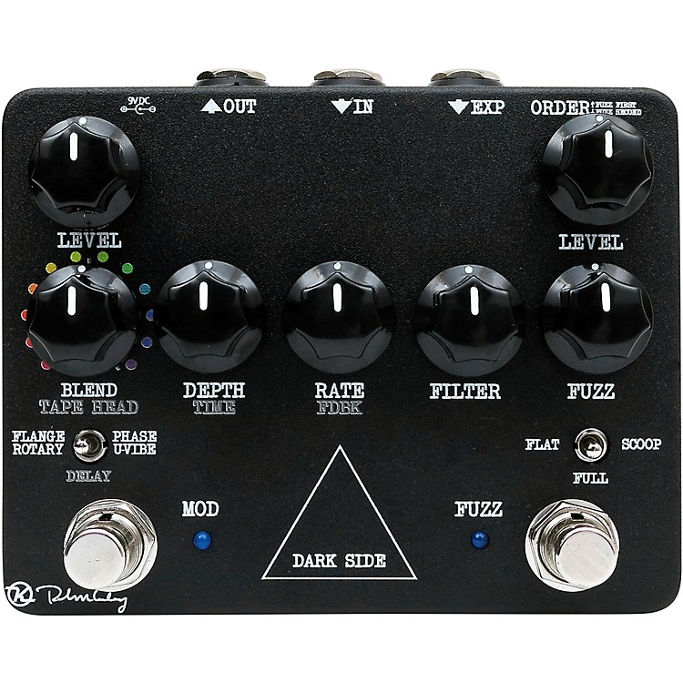 KeeleyDark Side Workstation Analog Multi-Effects Pedal