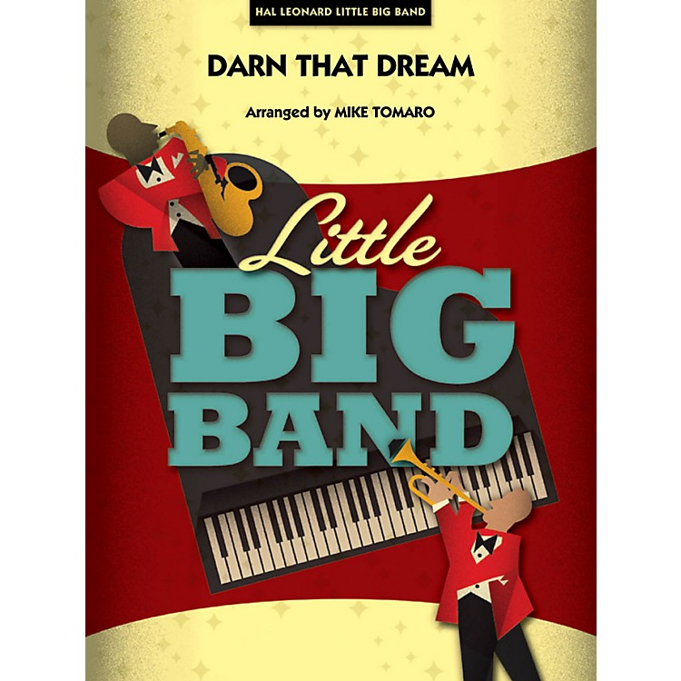Hal Leonard Darn That Dream - Little Big Band Series Level 3 - 4