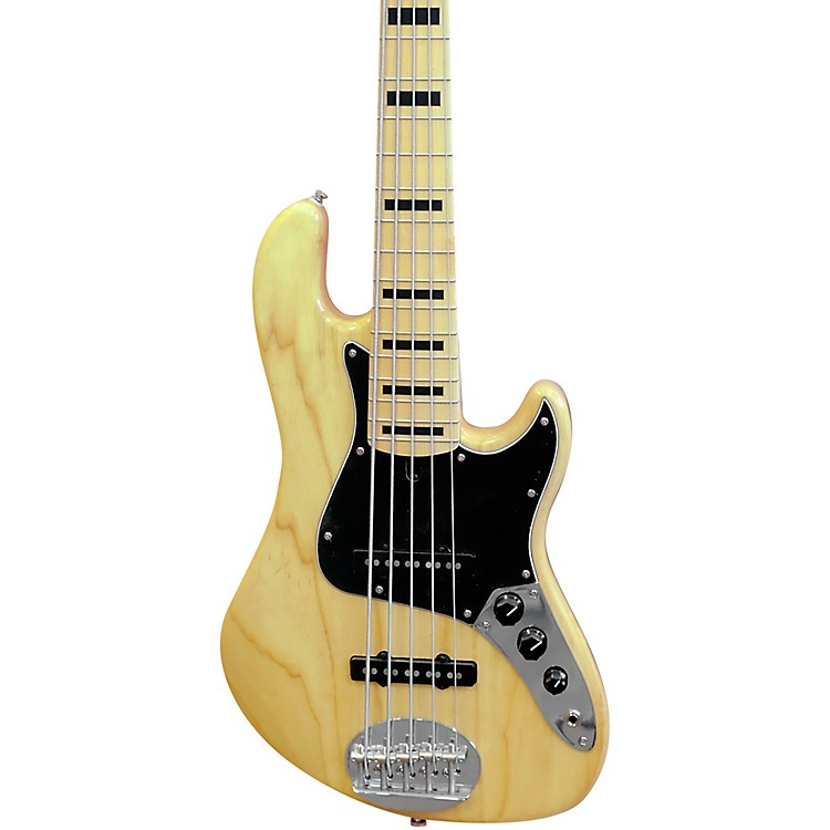LaklandDarryl Jones Signature Model 5-String Maple Fretboard Electric Bass GuitarNatural