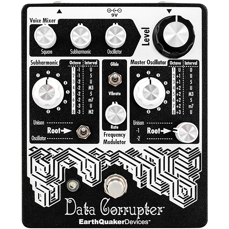 EarthQuaker DevicesData Corrupter Modulated Monophonic Harmonizing PLL