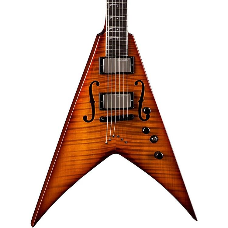 DeanDave Mustaine V StradiVMNT Electric GuitarVintage Sunburst