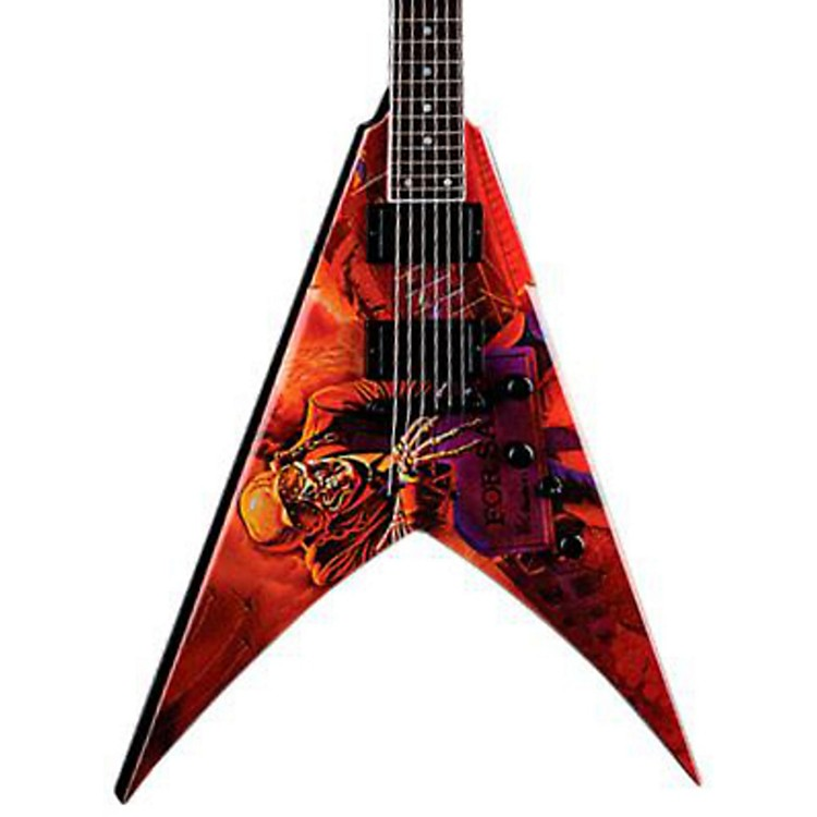 DeanDave Mustaine VMNT Peace Sells Electric GuitarPeace Sells