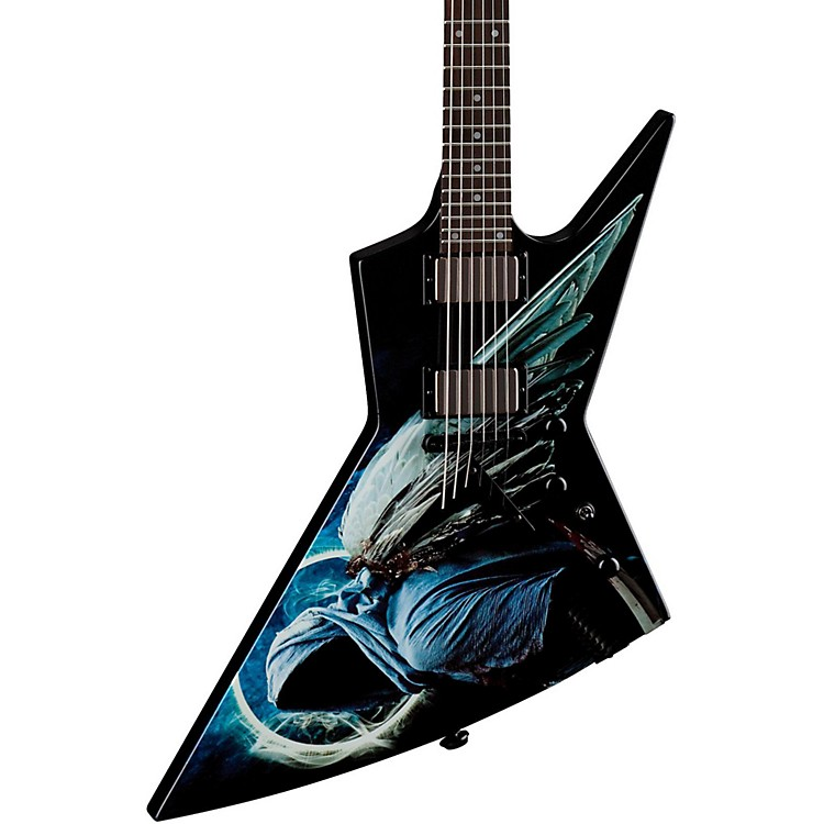 Dean Dave Mustaine ZERO Angel of Deth II Electric Guitar Custom Graphic