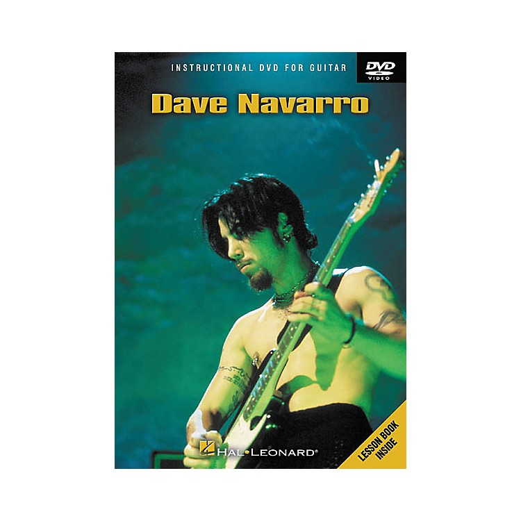 Hal LeonardDave Navarro (DVD)