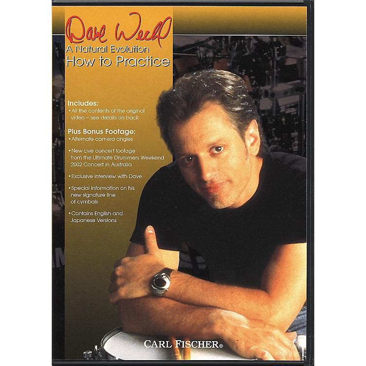 Carl FischerDave Weckl How to Practice Drum DVD