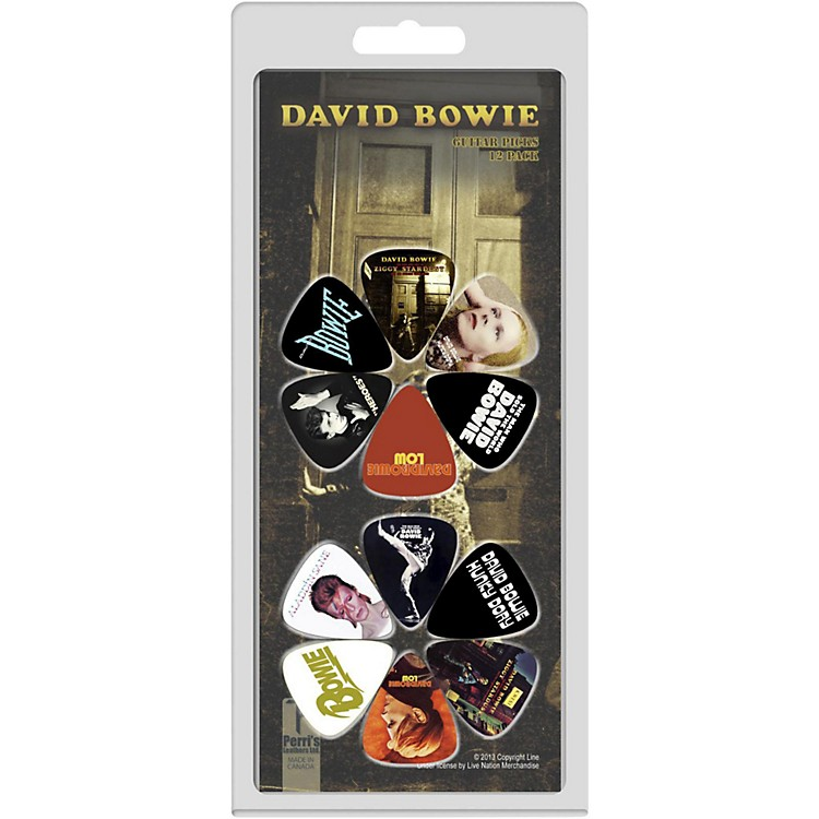 Perri's David Bowie Guitar Pick Pack  12 Pack