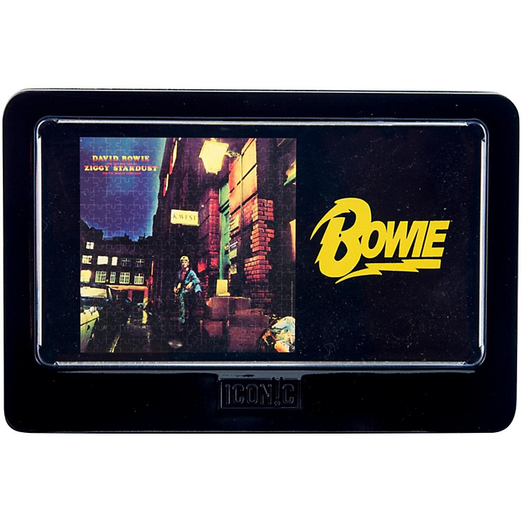 Iconic ConceptsDavid Bowie Ziggy Stardust 3D Lenticular Jigsaw Puzzle in Tin Gift Box