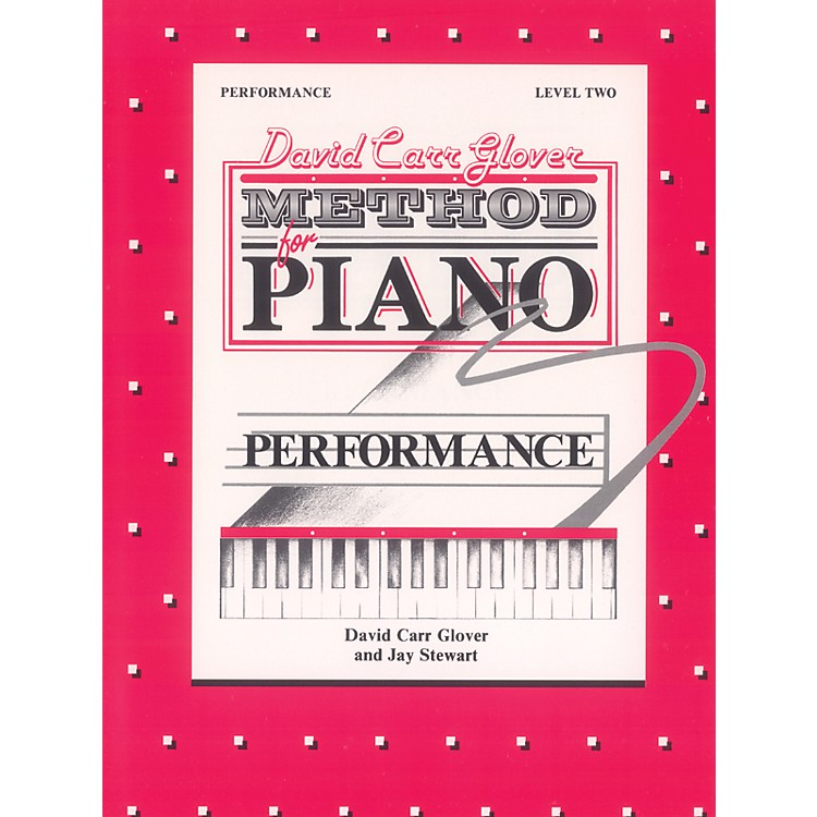 AlfredDavid Carr Glover Method for Piano Performance Level 2