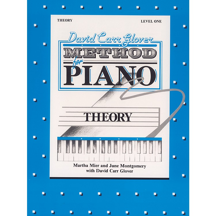 AlfredDavid Carr Glover Method for Piano Theory Level 1