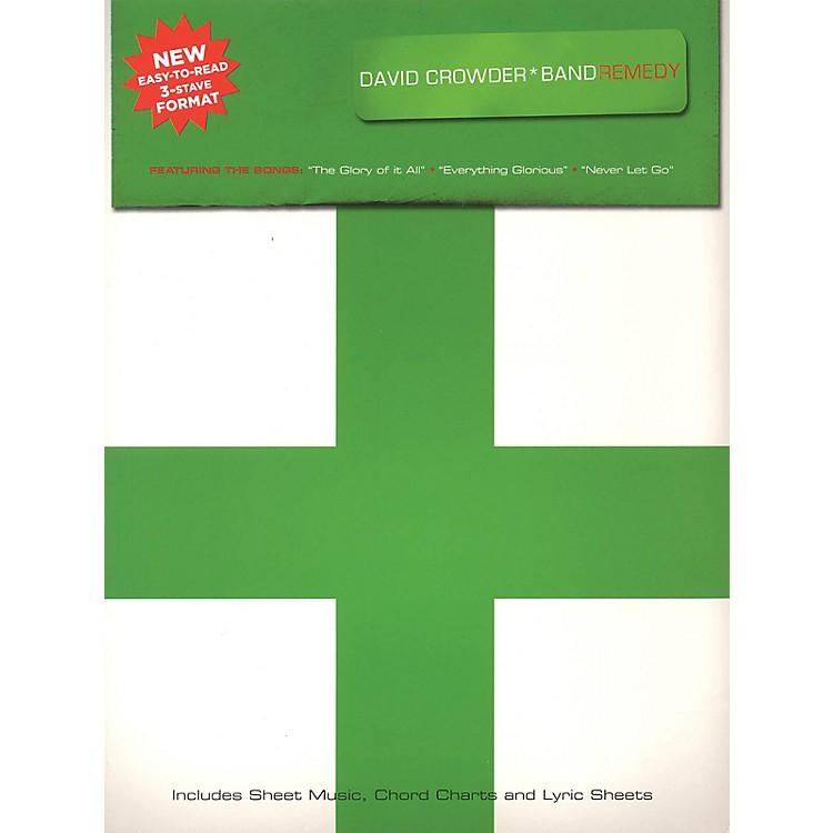 Worship TogetherDavid Crowder*Band - Remedy Sacred Folio Series Softcover Performed by David Crowder*Band