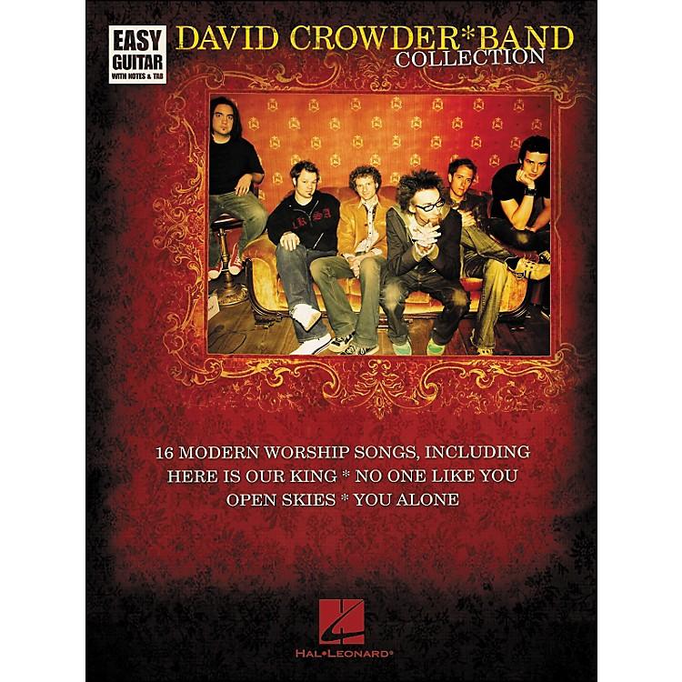 Hal LeonardDavid Crowder*Band Collection Easy Guitar Tab