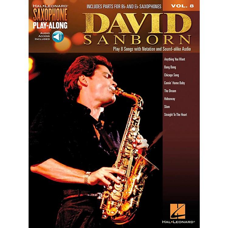 Hal LeonardDavid Sanborn - Saxophone Play-Along Vol. 8 (Book/Audio Online)