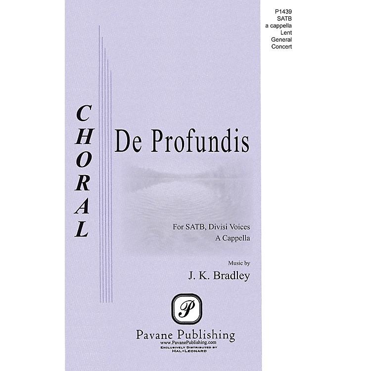 PavaneDe Profundis SATB a cappella composed by Kane Bradley