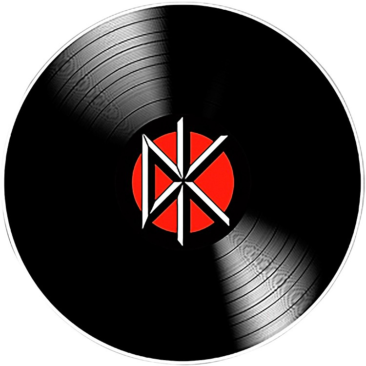 C&D VisionaryDead Kennedys DK Record Sticker
