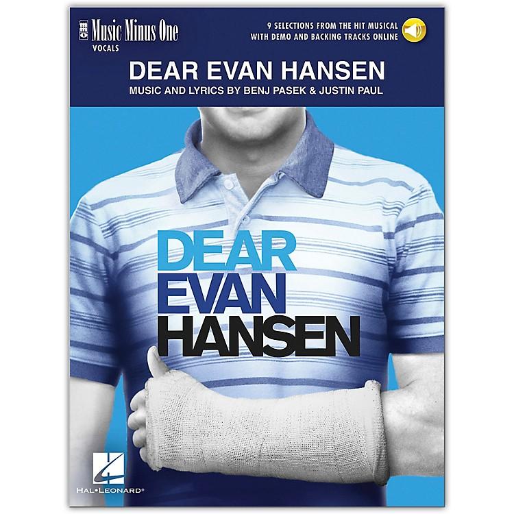Hal LeonardDear Evan Hansen - Music Minus One Vocals (Book/Audio Online) 9 Selections From Musical