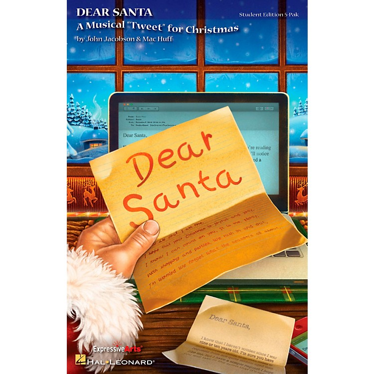 Hal Leonard Dear Santa - A Musical Tweet for Christmas Teacher's Edition (Singer's 5-Pak)